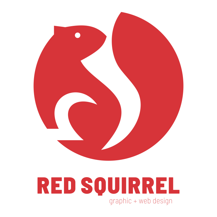 Red Squirrel Design Ltd. Logo